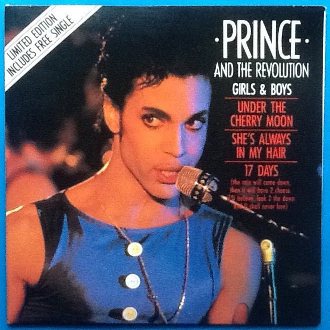 Prince and the Revolution Girls & Boys NMint 2 x 7