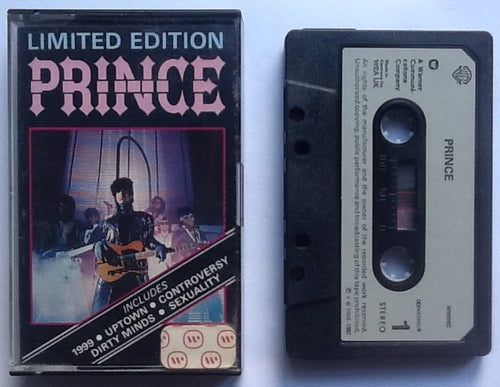 Prince 1999 5 Track NMint Limited Edition Cassette Tape Single Warner Bros UK 1982