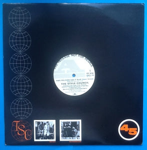 "Style Council Have You Ever Had It Blue 3 Track 12"" NMint Promo UK 1986"