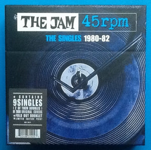 "Jam The Singles 1980-82 Unopened Box Set 9x7"" Singles 2006"