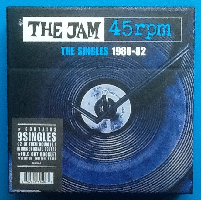Jam The Singles 1980-82 Unopened Box Set 9x7