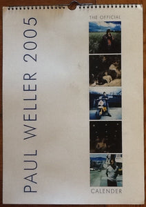 Paul Weller Official Unused Calendar 2005