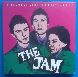"Jam Limited Edition 6 x 7"" Compilation Box Set Greece 1989"