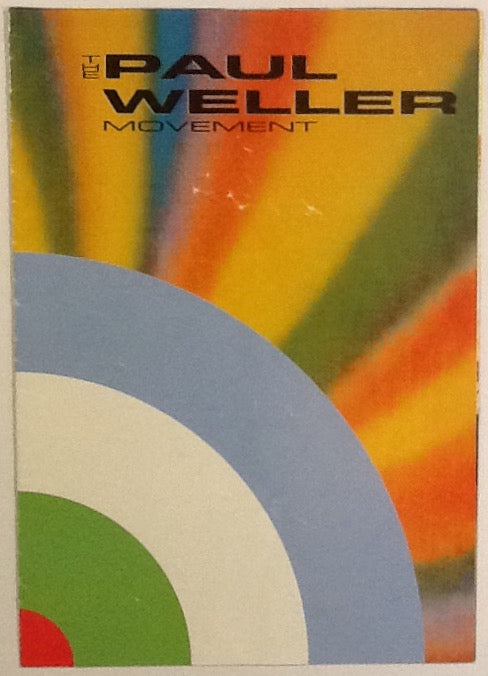 Paul Weller Movement Rare Original Concert Programme Live Tour 1990