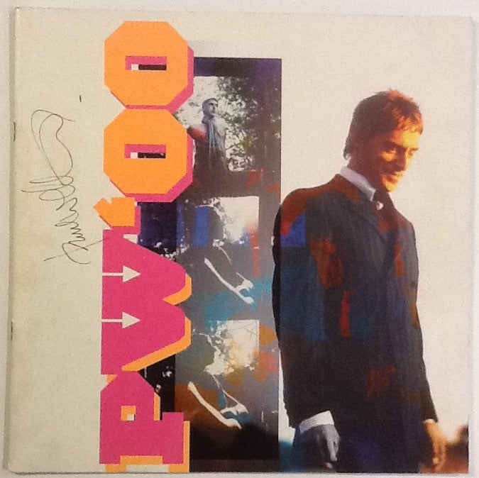 Paul Weller Signed Autographed Tour Programme 2000