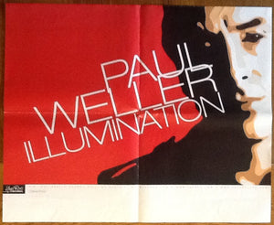Paul Weller Illumination Original Rare Promotional Poster USA 2002