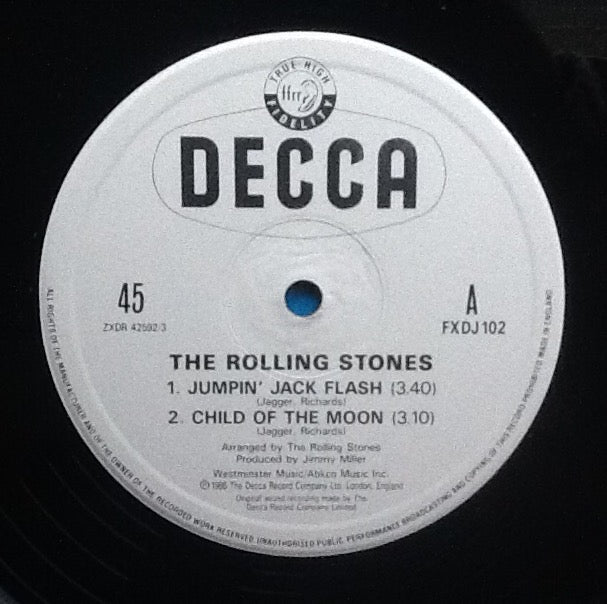 Rolling Stones Jumpin' Jack Flash 3 Track NMint 12