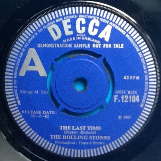Rolling Stones The Last Time 2 Track 7