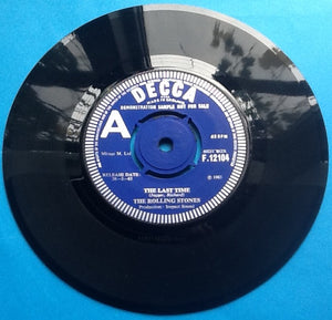 "Rolling Stones The Last Time 2 Track 7"" Demo UK 1965"
