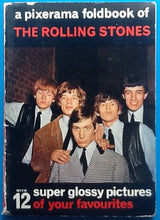 Load image into Gallery viewer, Rolling Stones A Pixerama Foldbook of 12 Pictures Wolfe 1964