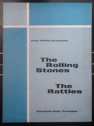 Rolling Stones Rattles Programme London 1964