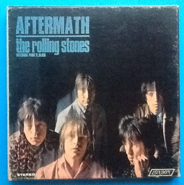 Rolling Stones Aftermath Reel to Reel Tape London