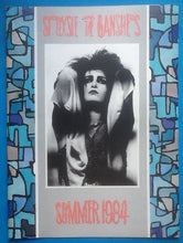 Load image into Gallery viewer, Siouxsie & The Banshees Concert Programme British & American Tour 1984