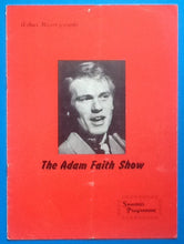 Load image into Gallery viewer, Adam Faith John Barry Seven Programme UK Tour 1961