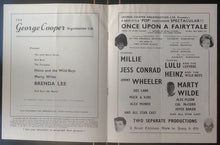 Load image into Gallery viewer, Brenda Lee Marty Wilde Programme UK Tour 1964