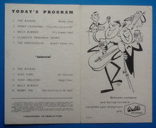 Load image into Gallery viewer, Bobby Vee Tony Orlando Springfields Original Concert Ticket UK Tour 1962