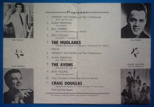 Load image into Gallery viewer, Craig Douglas, The Mudlarks, The Avons Programme 1959