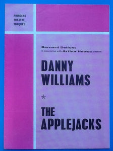 Danny Williams Applejacks Autographed Programme Torquay
