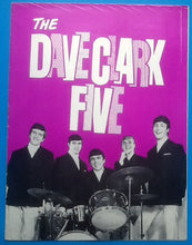 Load image into Gallery viewer, Dave Clark Five Kinks Hollies Programme 1964