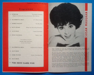 Dave Clark Five Programme Liverpool 1964