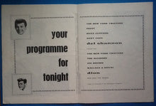 Load image into Gallery viewer, Dion Del Shannon UK Programme 1962