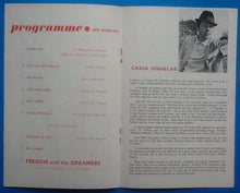 Load image into Gallery viewer, Freddie & the Dreamers Craig Douglas Programme Birmingham 1964