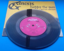 "Load image into Gallery viewer, Genesis Happy The Man Original 7"" 45 With Yellow P-S"