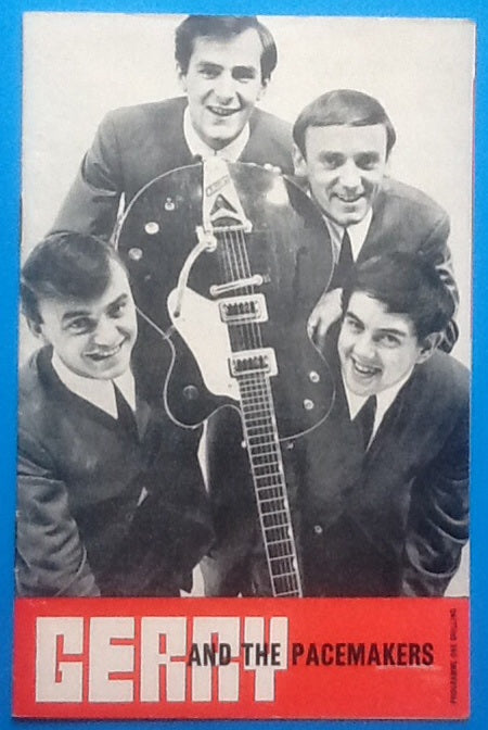 Gerry & the Pacemakers Bachelors Programme Birmingham 1964