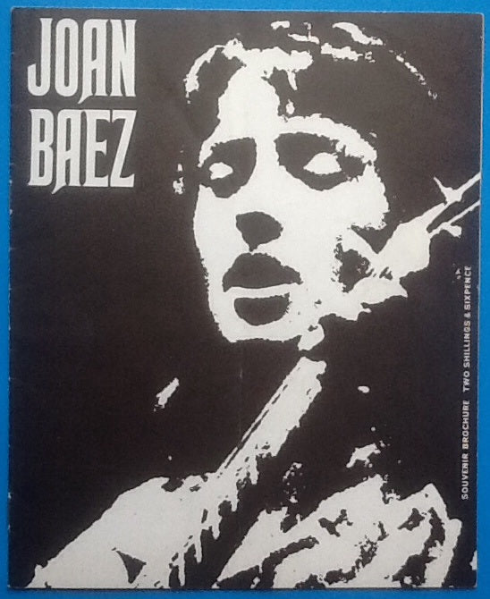 Joan Baez Programme UK 1967