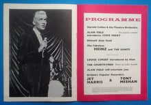 Load image into Gallery viewer, Jet Harris Tony Meehan  Heinz Autographed Programme Torquay 1963
