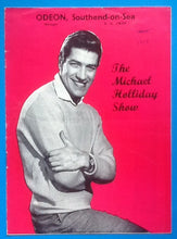 Load image into Gallery viewer, Michael Holliday Programme Southend 1959