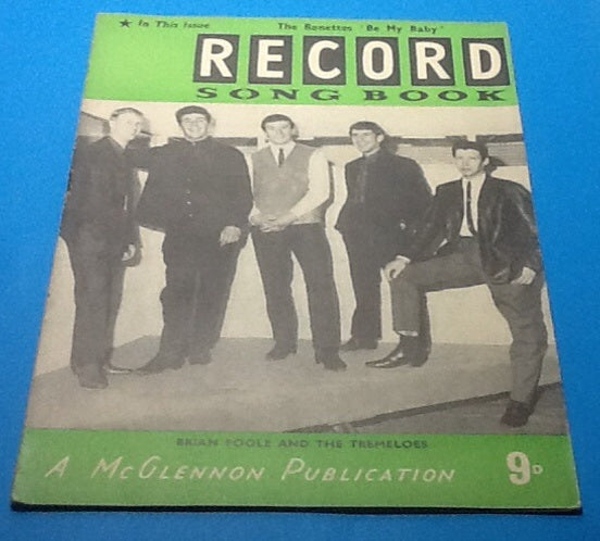 Record Song Book 1963