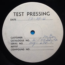 "Load image into Gallery viewer, Eric Burdon Animals Eric Is Here 2 x 12"" Test Pressing MGM 1967"