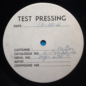 "Eric Burdon Animals Eric Is Here 2 x 12"" Test Pressing MGM 1967"
