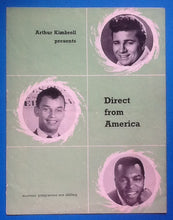 Load image into Gallery viewer, U.S. Bonds, Johnny Burnette, Gene McDaniels UK Programme 1962