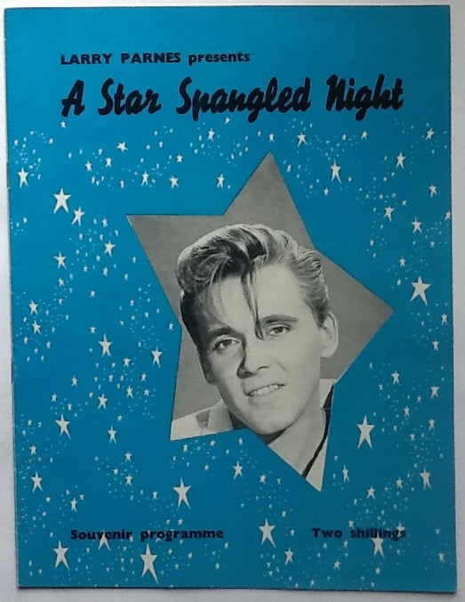 Billy Fury Eden Kane Joe Brown Original Concert Programme UK Tour 1961
