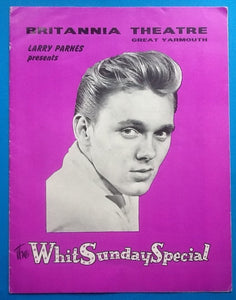 Billy Fury Marty Wilde Concert Programme Great Yarmouth 1964