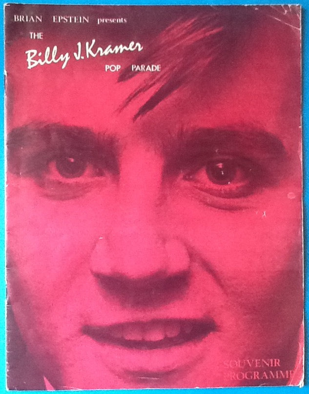 Billy J Kramer Johnny Kid Original Concert Programme UK Tour 1963