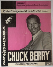 Load image into Gallery viewer, Chuck Berry Moody Blues Original Concert Programme UK Tour 1965
