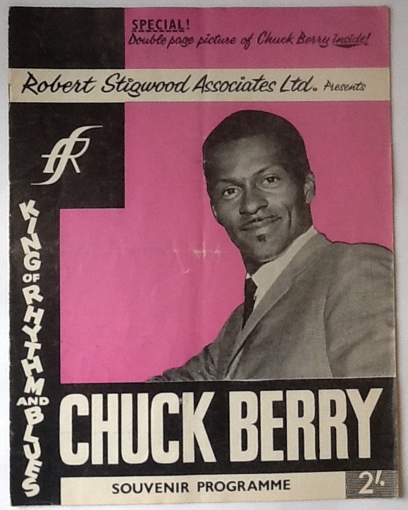 Chuck Berry Moody Blues Original Concert Programme UK Tour 1965