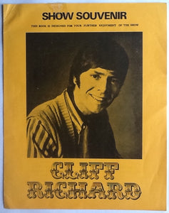 Cliff Richard Original Concert Show Souvenir Programme UK Tour 1971
