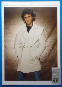 David Essex Original Concert Programme and Ticket London 1983