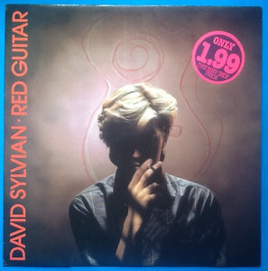 "David Sylvian Red Guitar 2 Track NMint 12"" Picture Sleeve Vinyl 1984"