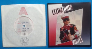"Elton John Nikita One Sided 1 track 7"" Acetate Phonogram 1985"