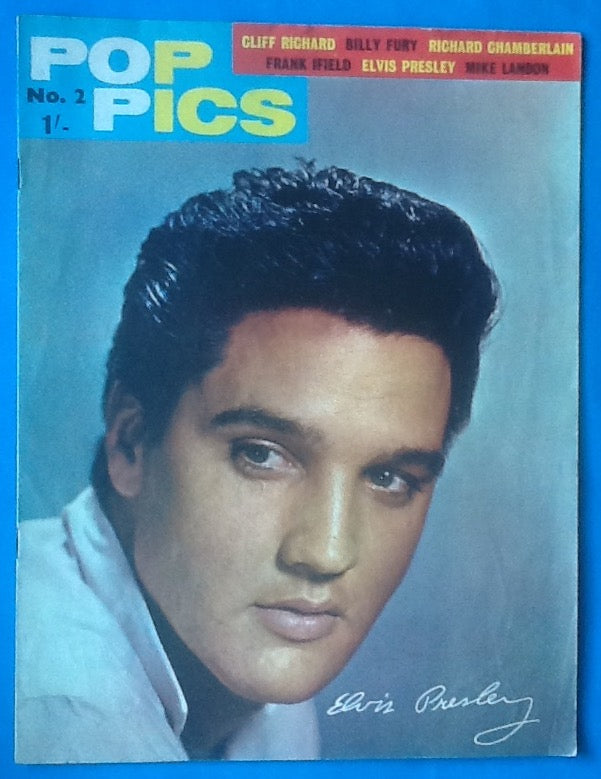 Elvis Presley Cliff Richard Pop Pics Magazine No. 2  1963