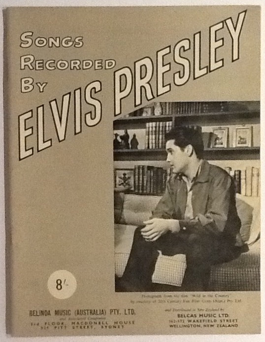 Elvis Presley Songs Recorded by Elvis Presley Australia