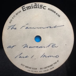 "Fourmost At Newcastle 2 x 12"" Acetates Mono Emidisc"