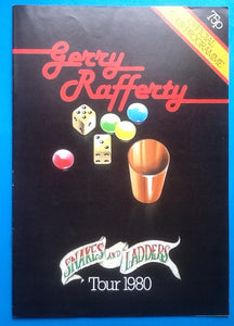 Gerry Rafferty Concert Programme UK Tour 1980