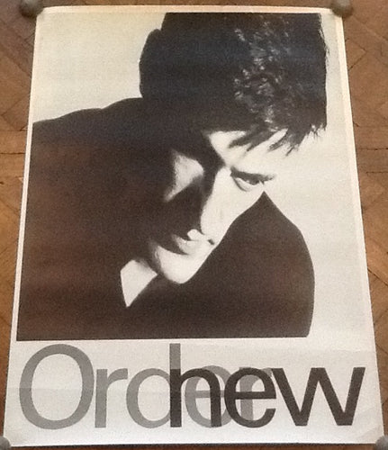 New Order Low Life Original Promo Poster Factory Records 1985
