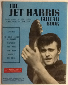 Jet Harris Guitar Book Original Sheet Music Book 1963